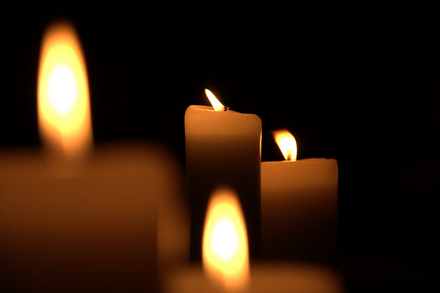 candles by LCNottaasen via flickr