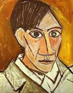 Picasso self portrait