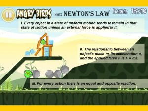 Angry-birds-meets-newtons-law