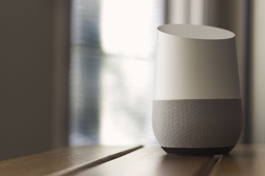 An image of a Google Home