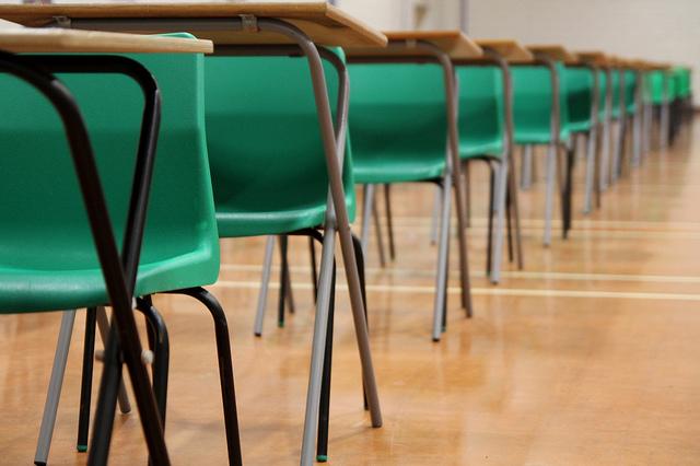 Image of student desks