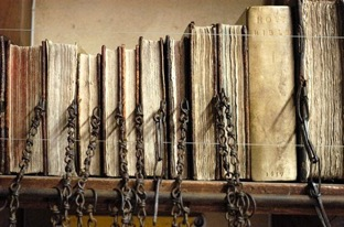 Image of chained books