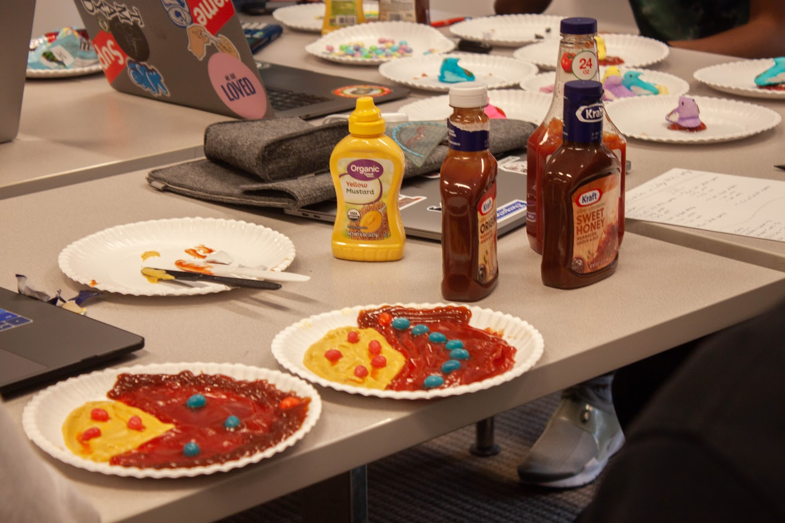 Condiments and candy representing data (Photo: Gissoo Doroudian)
