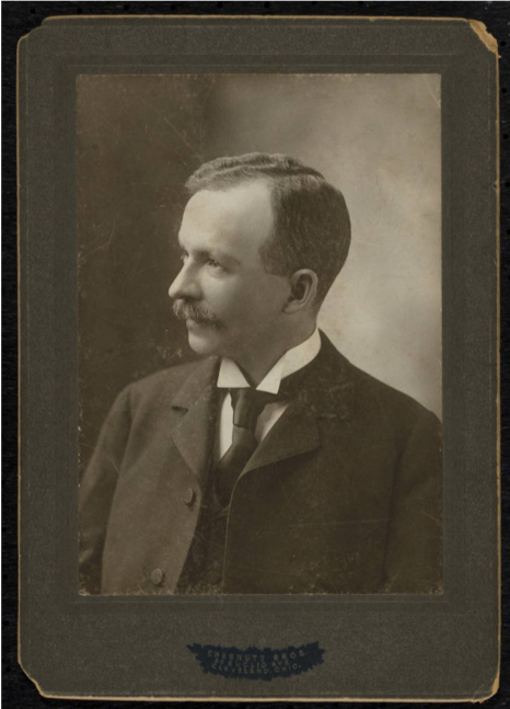 Photograph of Charles W. Chesnutt (c. 1898)